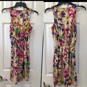 Express flora dress size XS